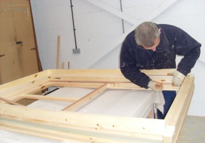 Making traditional sash windows
